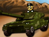 Mario sur son tank